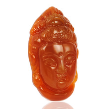 TJP natural china HUANGLONG jade guanyin pendant with certificate together loves mother lady gift Avalokitesvara