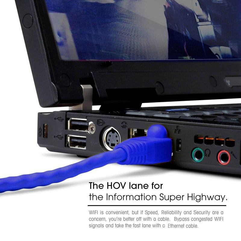 black white red blue 1.5FT 50cm UTP RJ45 8P8C Ethernet Cables Round 24 AWG Cat5e Internet Network Patch LAN Cord 5pcs/lot