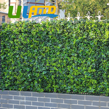 """48pcs 10"""" x10"""" Artificial Ivy Fencing Privacy Grass Fence Plastic UV Decorative Boxwood Topiary Bush Hedges For Garden G0602A009"""