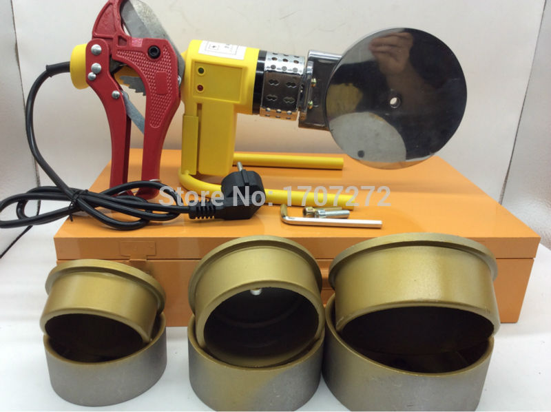 Constant Temperature Electronic PPR Welding Machine, Plastic Pipe Welding  AC 220V 1500W, 75-110mm Welding Pipes