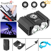 TrustFire Waterproof Bicycle Light D016 2x XM L2 LED 4 2V Bicycle Head Light With 3