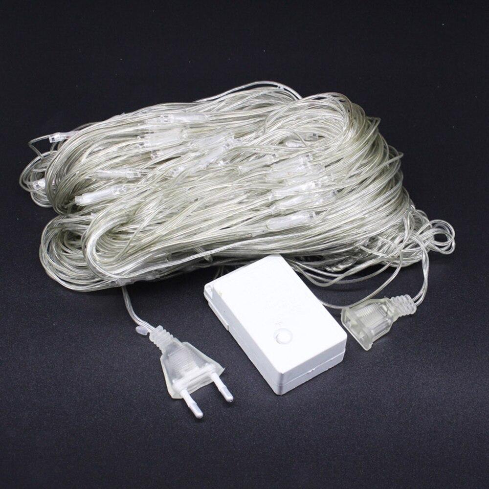 flashing string lights