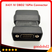 X431 IV Smart OBDII16E Connector X-431 Master Main Test Connector For Scanner Automotive Car Diagnostic Tool IV Test Adapter fast arrival hantek1008a pc usb automotive diagnostic car test oscilloscope signal generator 8ch 2 4msa s vehicle test