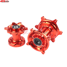 Billet CNC Front and Rear 36 Hubs Wheel Spokes For CR125/250 2002-2007 CRF250/450R/X 2002-2015 03 04 05 06 07 08 09 10 11