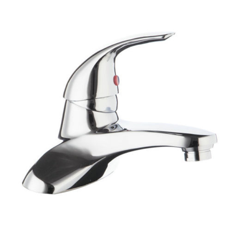 New Chrome Polished Kitchen Faucet Single Handle Single Hole Sink Bathroom Faucet torneira