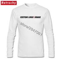 Tùy chỉnh Logo Tee Áo Sơ Mi Nam Retro Tìm Kiếm Tee Shirt Vòng Cổ Giá Thấp May Mặc Thương Hiệu Quà Tặng cho Ngày Valentine