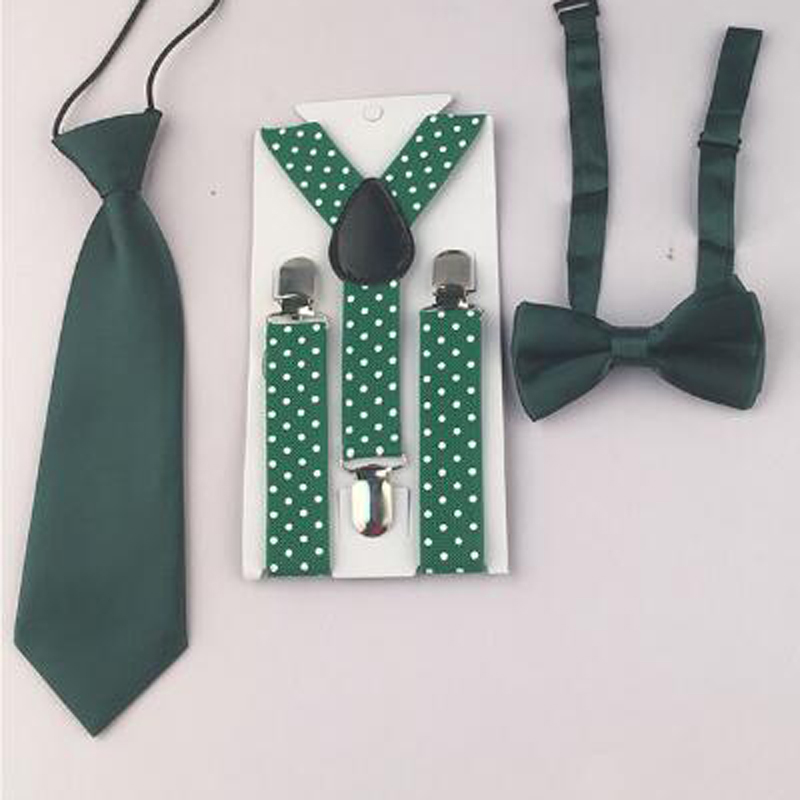 New Arrival Classic Baby Boy Toddler Unisex Adjustable Necktie Bowtie Suspender Y-Back Free Shipping  HHtr0005a06