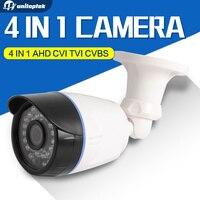 2MP 1080P AHD CVI TVI CVBS 4 In 1 CCTV Bullet Camera Outdoor Waterproof 3 6mm