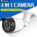 4 Em 1 Câmera CVI TVI AHD 720 P 1080 P CCTV Bala câmera CVBS 2000TVL À Prova D' Água 3.6mm Lente CMOS Câmera De Segurança Com OSD Menu