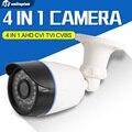4 En 1 Cámara CVI TVI AHD 720 P 1080 P CCTV de la Bala cámara 2000TVL CVBS Impermeable 3.6mm Lente CMOS de Cámaras de Seguridad Con OSD menú