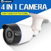 4 In 1 CVI TVI AHD Camera 720P 1080P CCTV Bullet Camera CVBS Waterproof 3.6mm Lens CMOS 2000TVL Security Camera With OSD Menu