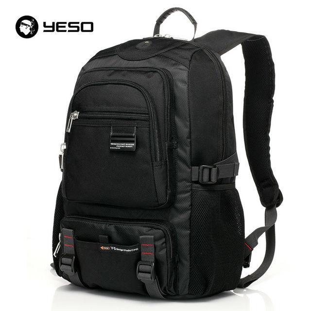14 Sacos De Escola Para Adolescentes de 15.6 Polegada Oxford Impermeável Mochila Laptop Negócio YESO Marca Casual Mochilas de Viagem mochilas