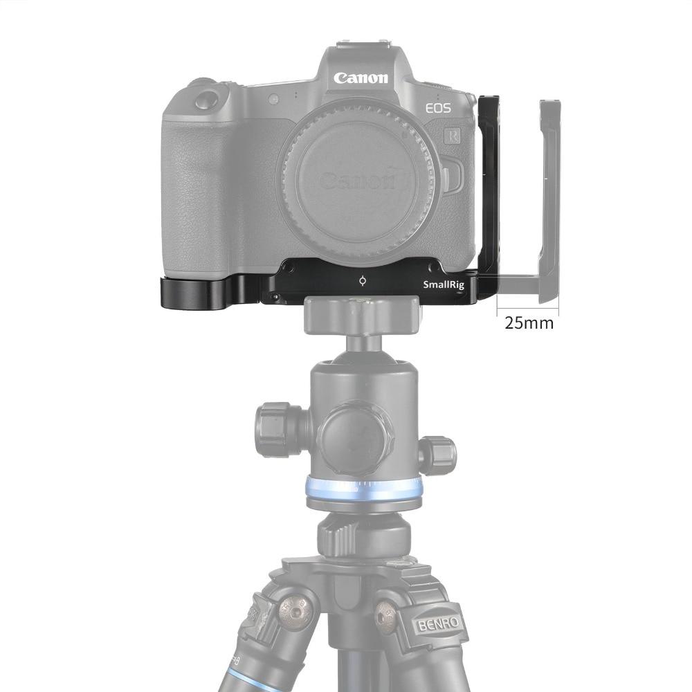 Petite plaque de support L pour Canon EOS R plaque latérale + plaque de base fixation rapide Dslr caméra plaque de montage L plaque Kit-2257 - 5