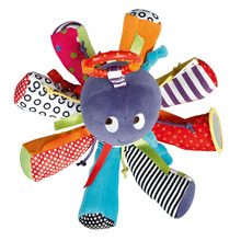 baby rattles  Octopus Toys bed hanging Bell for BB magic mirror infant doll teether educational toys christmas gift