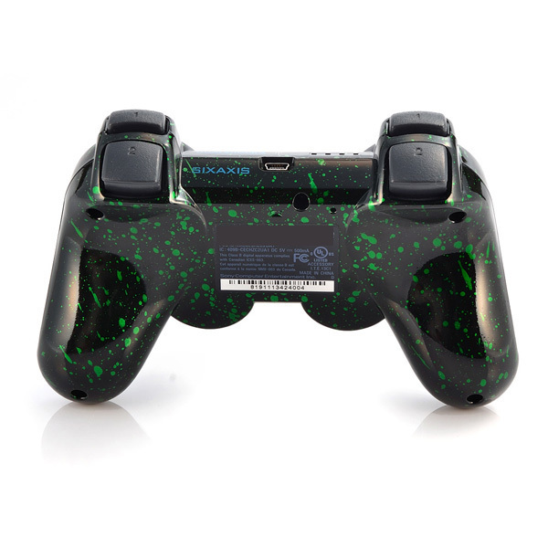 for ps3 controller game controllers controllers Wireless Controller for PlayStation 3 Place snowflake green for PS2 PS3