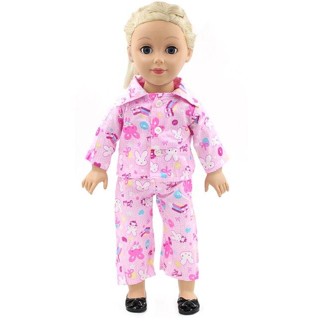 Muñeca Accesorios American Girl Muñecas ropa 8 colores pijamas ...