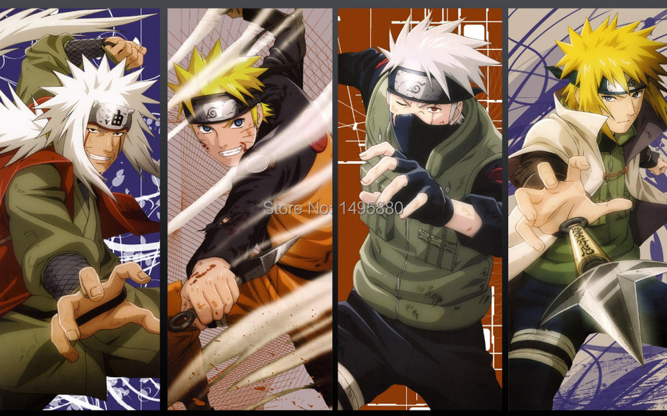 Free Shipping Hd Wallpaper Posters Naruto I Grow Naruto Family Room Decoration 24 X 32 Inches Wallpaper Diy Wallpaper Cheapwallpaper Retail Aliexpress