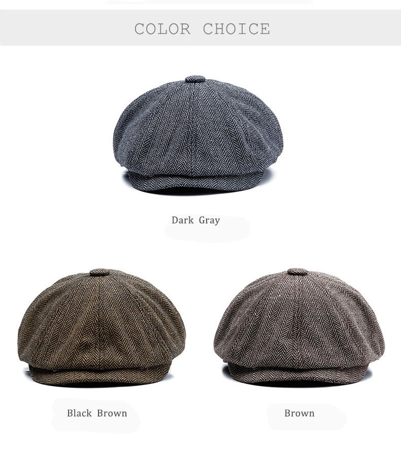Shelby Flat Caps
