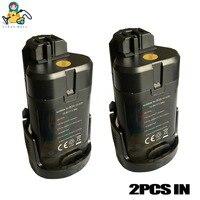 2 paquetes de batería de controlador de tornillo OEM para bosch PMF PSM PSR 10,8 V LI ION 2607336863 2607336864 2607336909 destornillador de la batería a
