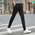 Slim Korean casual pants harem pants spring new tide male pants youth big size Slim small straight pants