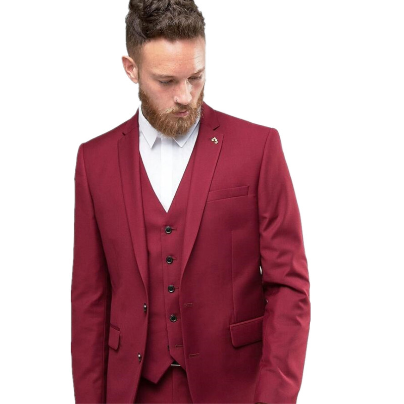 Popular Prom Tuxedos Burgundy-Buy Cheap Prom Tuxedos Burgundy lots ...