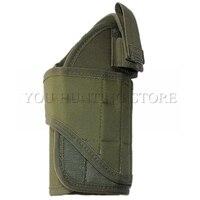 Minimalist MOLLE Pistol Holster Belt Pistol Holster Adjustable Hook And Loop Strap To Fit Airsoft Pistols