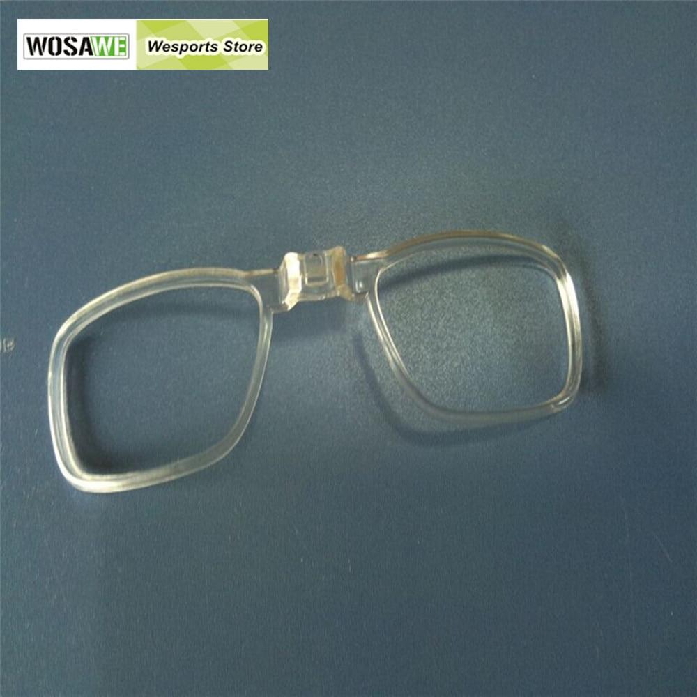 Prix pour WOSAWE Myopie Cadre De Bicyclette De Vélo Lunettes de Soleil intérieure cadre lunettes pour objectif myope 3 pcs/lot