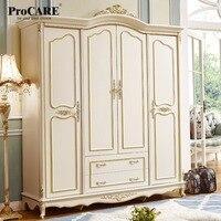 Luxo estilo europeu e americano quarto móveis qualidade 4 portas roupeiro armários|bedroom furniture|luxury bedroom furniture|european bedroom furniture -