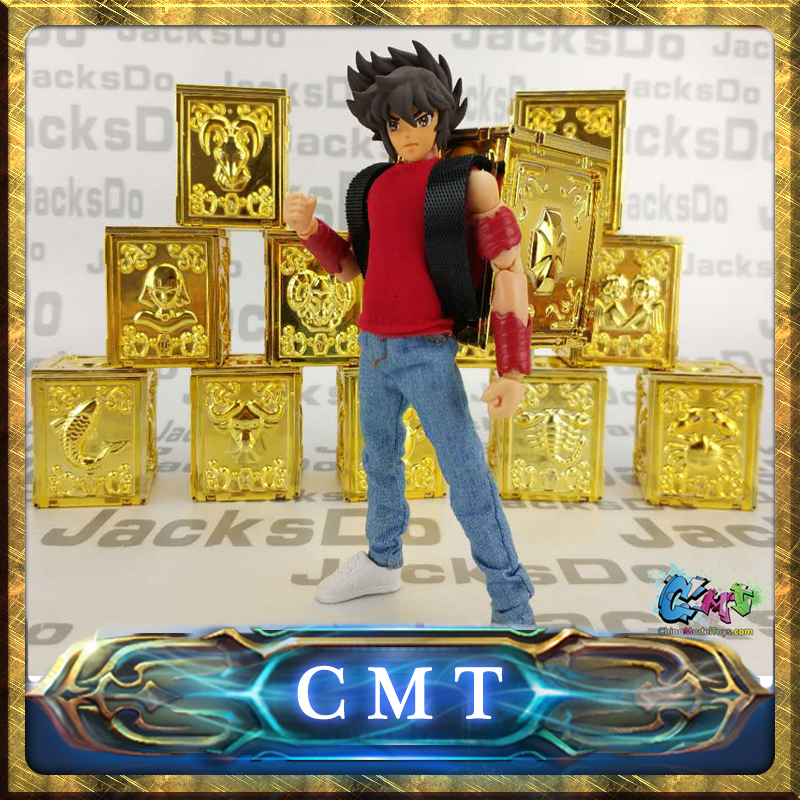CMT JacksDo 12 Golden Saint Seiya Pandora Boxes cmt jacksdo saint seiya soul of god bronze pandora boxes full set