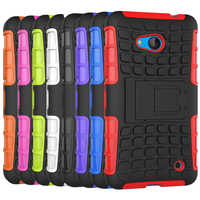 For Nokia Lumia 640 Case Heavy Duty Armor Shockproof Hybird Hard Rugged Silicone Rubber Phone Cases Cover For Nokia 640 N640