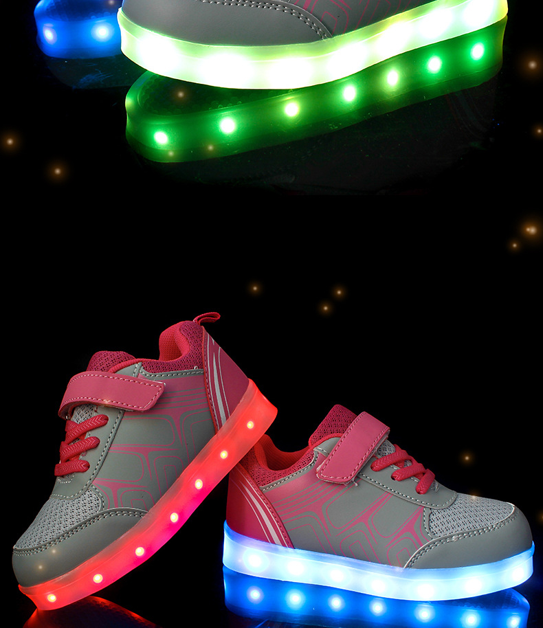 Street Led Sneakers Kids 3
