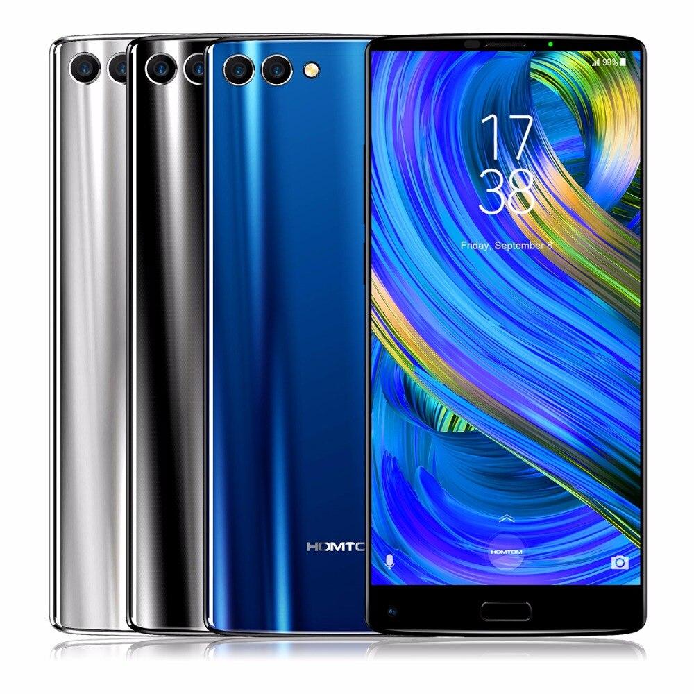 HOMTOM S9 Plus 5.99 Tri-bezelless 18:9 HD+ MTK6750T Octa Core 4G RAM 64 ROM 4050mAh Dual Back 16MP+5MP Camera OTG Smartphone