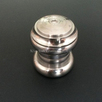 Ti 3AL 2 5V Titanium Headset 1 1 8 143g Highly Brushing
