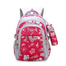Новый детские школьные сумки для обувь девочек Начальная школа Книга сумка Sac Enfant детей школьные ранцы печати рюкзак ортопедический