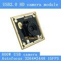 Überwachung kamera USB 2.0 8MP 15FPS Autofokus Doppel digitale mikrofon SONY IMX179 UVC USB kamera modul für Linux Windows-in Überwachungskameras aus Sicherheit und Schutz bei