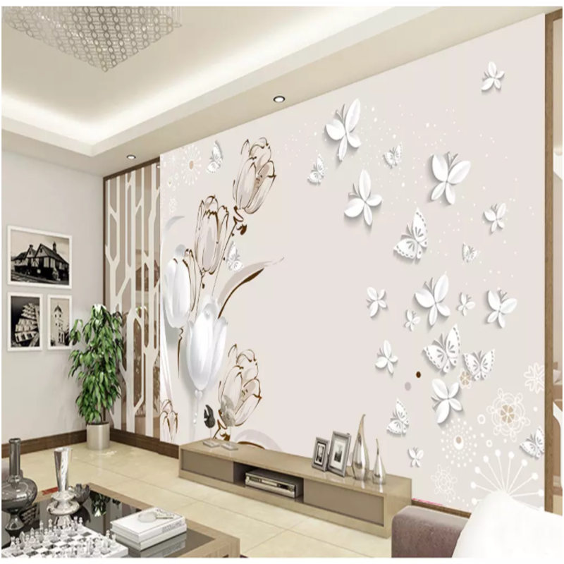 Obliging Photo Wallpaper European Style 3d Stereo Palace Murals Living Room Tv Sofa Bedroom Background Wall Luxury Home Decor Wall Papers Wallpapers