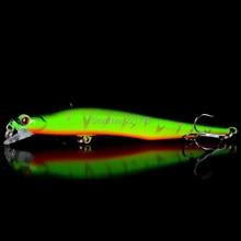12CM/12G Hard Laser  Minnow Fishing Wobblers Artificial Bait Fake Lures Pesca Treble Hooks Diving 0.5-1.8m Crankbaits Swimbait