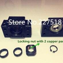 1 комплект концевые опоры шарикового винта: 1 шт. BK12+ 1 шт. BF12 1605 1604 шариковинтовая Опора ЧПУ Запчасти для SFU1605 SFU1604