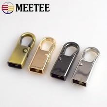 Meetee Metal Bag Buckles Snap Hook Dog Buckle for Webbing Belt Handle Screw Luggage Accessories
