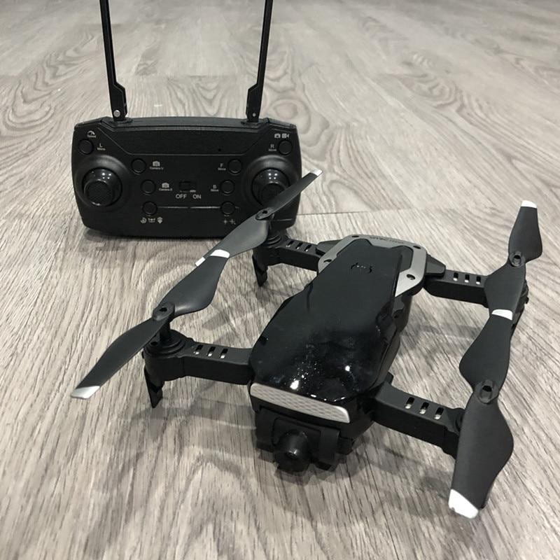 Foldable Mini Drone Dron RC Helicopter Quadcopter With HD Camera WIFI FPV RTF Remote Control Toys for Adults Boy Children VS E58