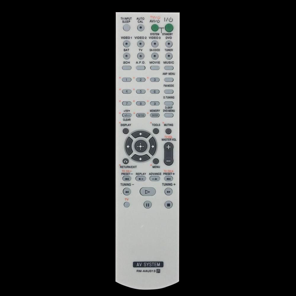 New For Sony RM-AAU013 Audio/Video Receiver AV Remote Control HTDDW790 HTDDW795 STRDG510 STRK790 STRDG710