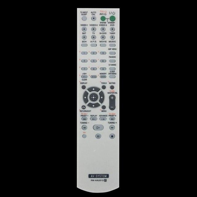 New For Sony Rm Aau013 Audio Video Receiver Av Remote Control Htddw790 Htddw795 Strdg510