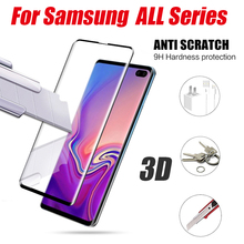 3D full cover for samsung galaxy S6 Edge plus S7 S8 S9 S10 note 8 9 screen