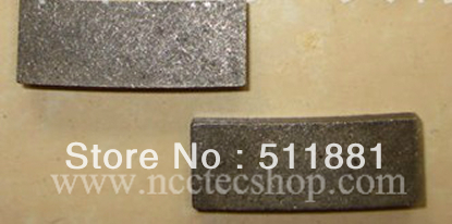 [15mm Height] Diamond Segments For 14'' 350mm Saw Blade FREE Shipping | Concrete Granite Cutting Heads Teeths | 120 Pcs Per Set