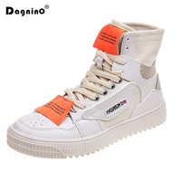 DAGNINO Autumn Winter Canvas Boots Women Shoes Casual Platform Thick Soled Streetwear Hip Hop Korean Ankle Woman Boot Sneakers