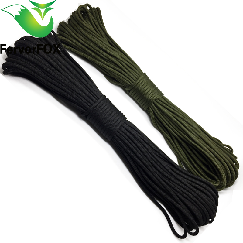 10 Meters Dia.4mm 7 Stand Cores Paracord For Survival Parachute Cord Lanyard Camping Climbing Camping Rope Hiking Clothesline