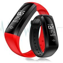 Умный браслет с Приборы для измерения артериального давления крови кислородом сердечной Мониторы трекер вибрации смарт-браслет PK tezer