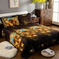 Animal Wolf 3D Print Bedding Set Colorful King Queen Size Duvet Cover Set Bedsheet Pillowcase Ropa