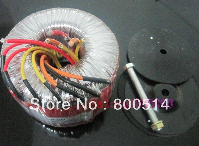 High quality  300VA Toroid Transformer  Input:0-115-23V  output:AC36V-0-AC36V   AC12V- 0-AC12V