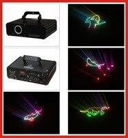 החדש 1 W RGB אנימציה אור לייזר 20 kpps צבע רב אור mw 532nm הירוק אדום mw @ 450nm @ 635nm + כחול